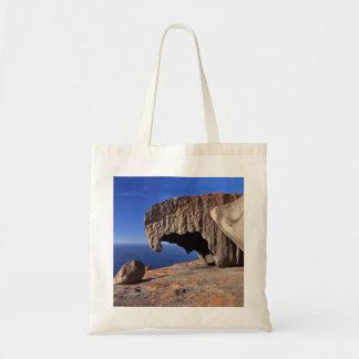 Rocas notables, isla del canguro, sur de Australia Bolsa Tela Barata