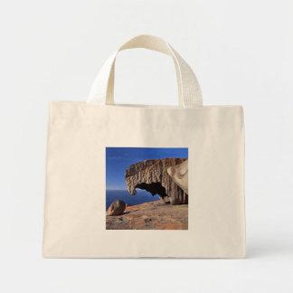 Rocas notables, isla del canguro, sur de Australia Bolsa Tela Pequeña