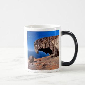Rocas notables, isla del canguro, sur de Australia Taza Mágica