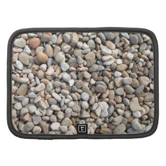Rocas, piedras, guijarros planificadores