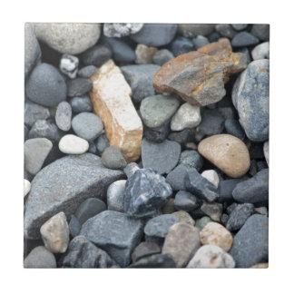 Rocas, piedras, y grava azulejo cuadrado pequeño