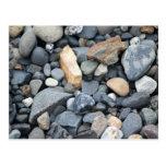Rocas, piedras, y grava postal