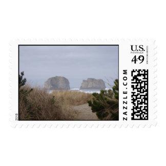 Rocas, playa gemelas de Rockaway, O Envio