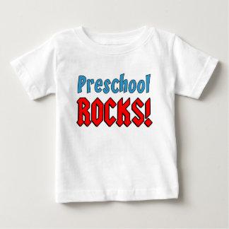 Rocas preescolares playera de bebé