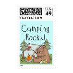 Rocas que acampan sello