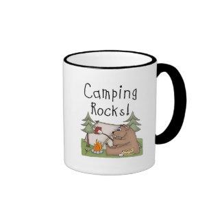 Rocas que acampan tazas