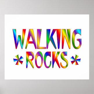 Rocas que caminan impresiones
