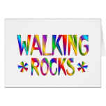 Rocas que caminan tarjetón