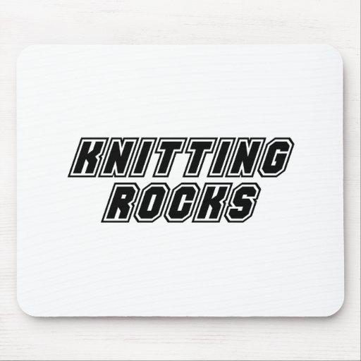 Rocas que hacen punto alfombrillas de raton