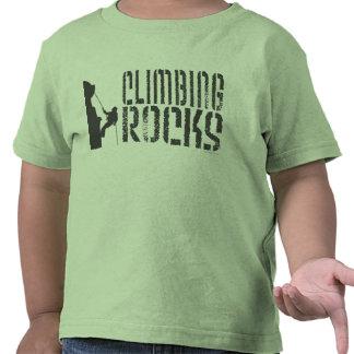 Rocas que suben camiseta