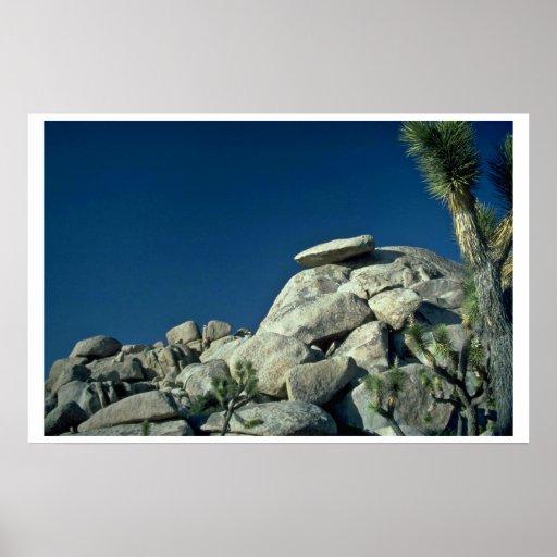 Rocas quebradas póster