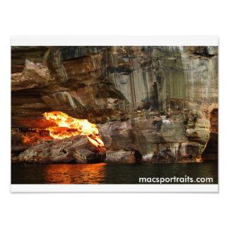 Rocas representadas 3 fotografía
