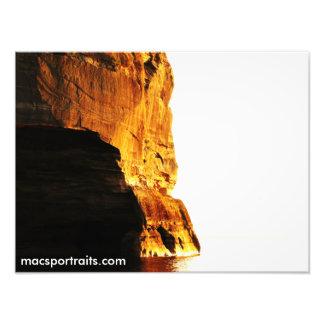 Rocas representadas Sun Fotografías