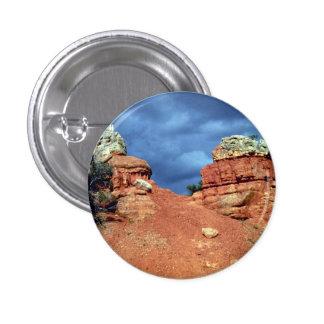 Rocas rojas, barranco rojo, formación de roca de U Pins