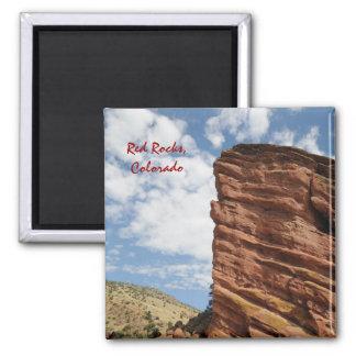 Rocas rojas, Colorado Imán Cuadrado