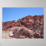 Rocas rojas de Las Vegas Impresiones