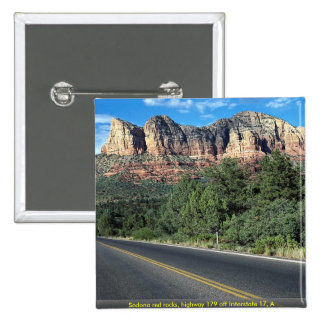 Rocas rojas de Sedona, carretera 179 de la autopis Pin
