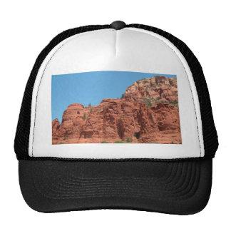 Rocas rojas del cielo azul del Sedona-Cobalto Gorros Bordados
