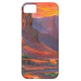 Rocas rojas funda para iPhone SE/5/5s