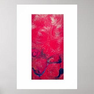 Rocas rojas póster