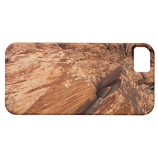 Rocas rojas rayadas funda para iPhone SE/5/5s