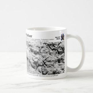 Rocas sedimentarias en Marte I - arándanos Taza De Café