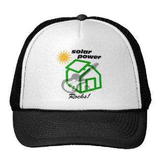 ¡Rocas solares de p0wer! Gorra