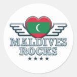 Rocas v2 de Maldivas Pegatina