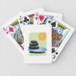 Rocas y agua cartas de juego