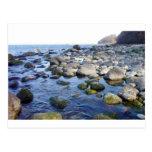 Rocas y agua tarjetas postales