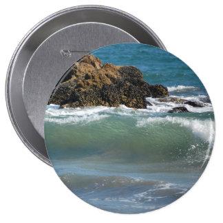 Rocas y ondas, botón enorme