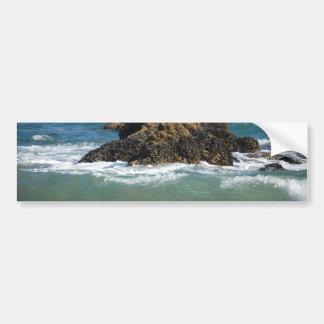 Rocas y ondas, pegatina para el parachoques pegatina para auto