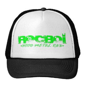 ROCBOI (HOOD.METAL.R&B) TRUCKER HAT