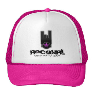 ROCGURL (HOOD.METAL.R&B) TRUCKER HAT
