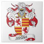 Rocha Family Crest Tile