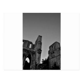 Roche Abbey Ruin Postcard