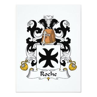 Roche Family Crest Card