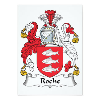 Roche Family Crest Card