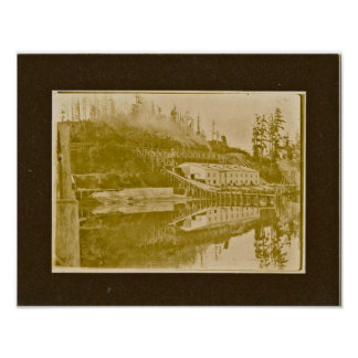 Roche Harbor Lime Kiln Poster