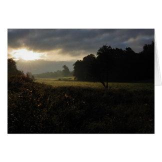 Roche Valley Sunrise Card