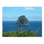 Rocher du Diamant 1 - Martinica, F.W.I. Tarjeta Postal