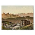Rochers de Naye Grand Hotel, and railroad, Geneva Posters