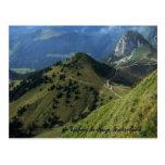 Rochers de Naye, Suiza Tarjeta Postal