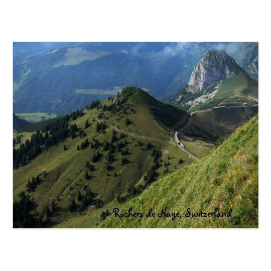 Rochers de Naye, Switzerland Postcard