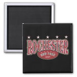 Rochester1817 2 Inch Square Magnet