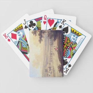 Rochester, 1799 (aceite en lona) baraja cartas de poker