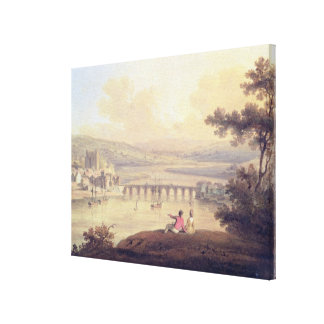 Rochester, 1799 (oil on canvas) canvas print