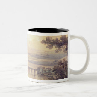 Rochester, 1799 (oil on canvas) Two-Tone coffee mug