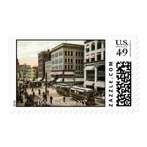 Rochester 1906 NY Sello