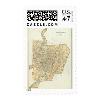 Rochester 2 postage stamp